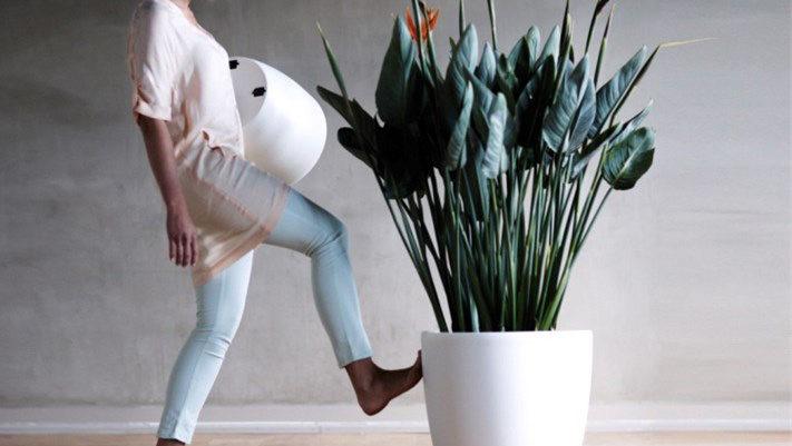 """Collection Synthetic """"Brussel"""" - Bac à plantes décoratif par Florabora"""