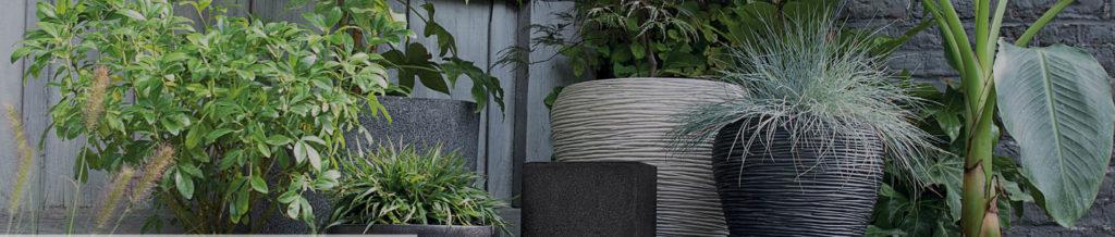 """Collection Synthetic """"Capi"""" - Bac à plantes décoratif par Florabora"""